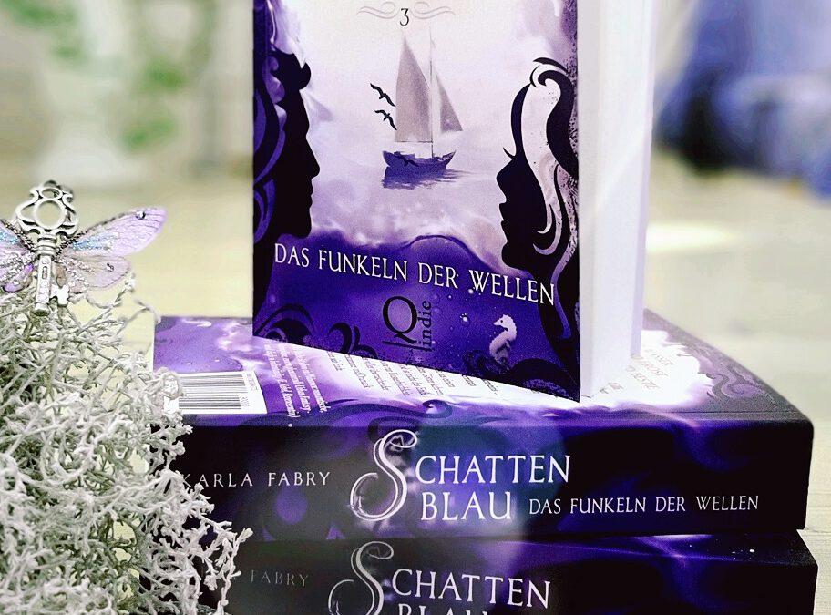 """""""Schattenblau: Das Funkeln der Wellen"""" als Taschenbuch"""