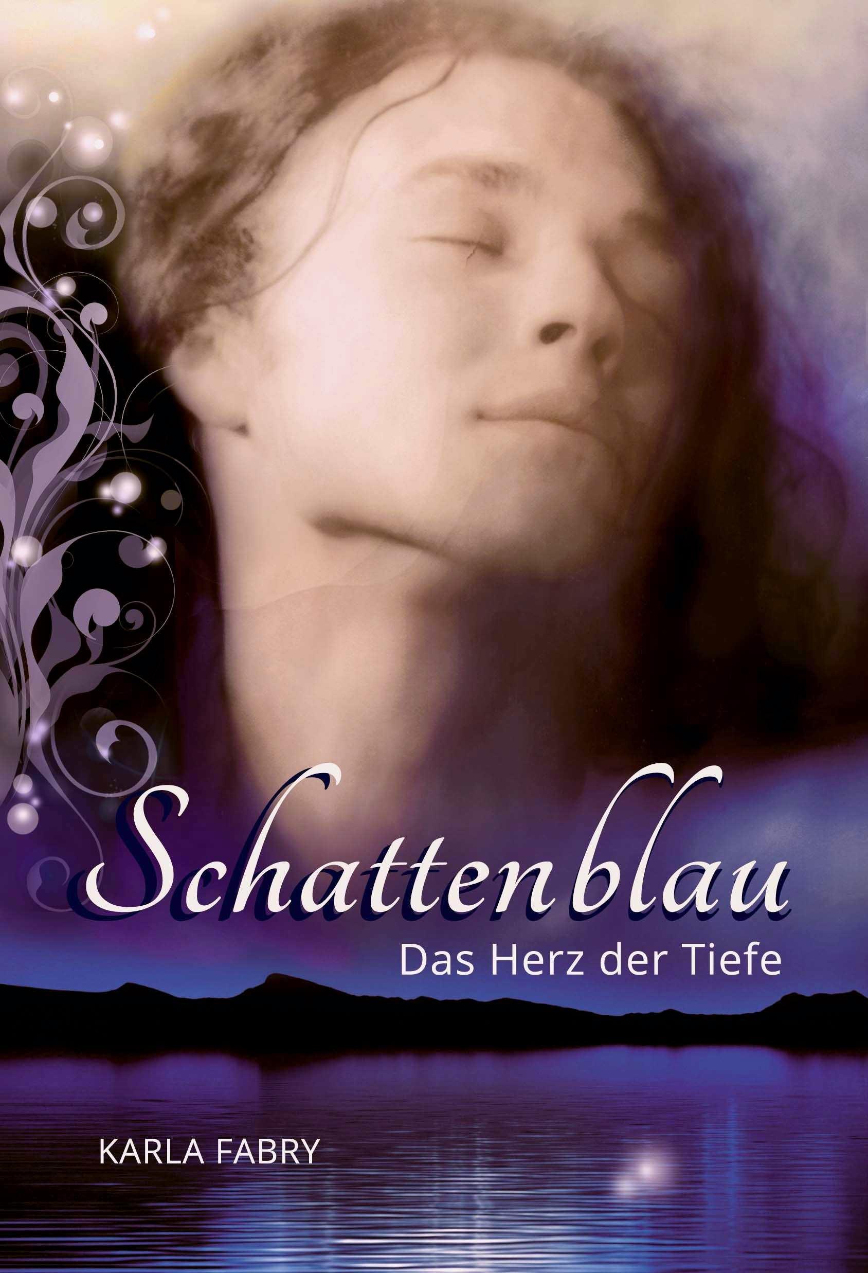 """Neues Cover für """"Schattenblau"""""""